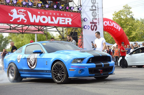 The semifinal of the Ukrainian drag racing championship 2019 was held with the support of Wolver