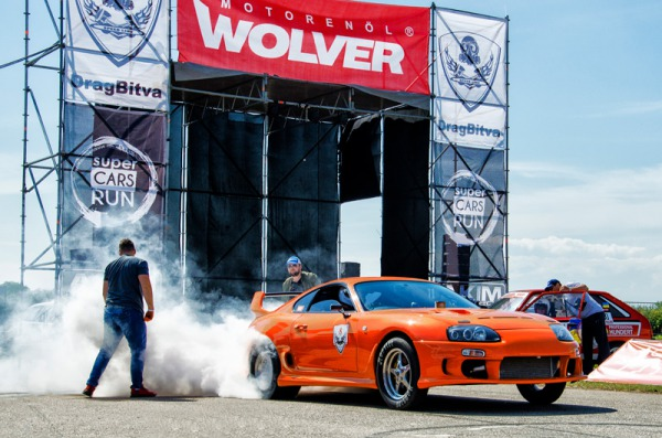 Wolver is the sponsor of the Ukrainian drag racing Championship of 2019